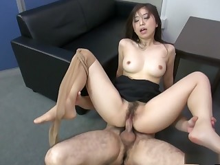 Dear Yuka Tsubasa is having enjoyment at work