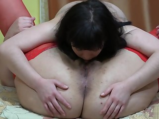 lesbians rendered helpless hairy pussies, licking asses to each other together with strapon