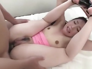 Hot girl gets exasperation fuck雙管齊下