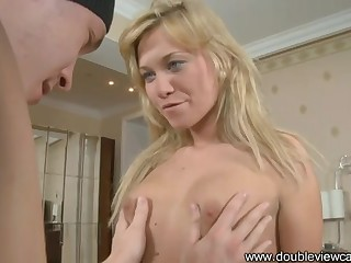 Checking Of Nice Blondie's In all directions from Holes