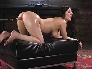 Fucking awesome fuck gadget solo with elegant Cherry Ravelled