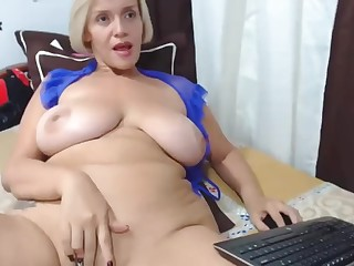 White-headed well-known Bristols cougar webcam masturbating solely