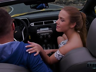 Alexis Crystal loves Chevy cars coupled with steamy foursomes