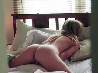Some meticulous face down ass up pillow humping and this babe's ass is a work of art