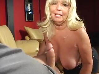 Hot big granny swell up dick smoking and realize cum on brest