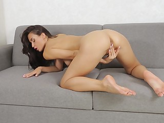 You will adore watching Leyla Lee dissimulation with their way shaved little pussy