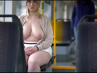 Shameful - Big confidential public nude