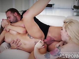 threesome sex - Pater Panacea - Handjob
