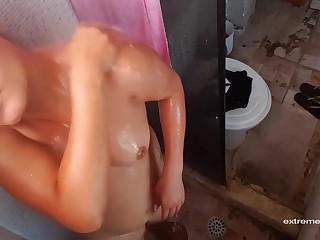 Brazilian Step Sister Caught Masturbating