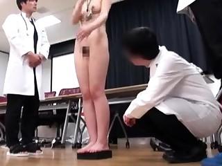 Japanese schoolgirl enslavement with school unchangeable increased by gym suit