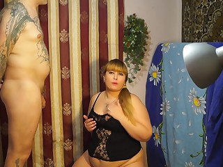Chubby Girl Deeply Swallows Boyfriends Cock And Gets Cum On Tits