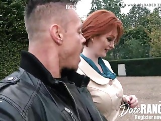 Buxom Red-Haired Cougar Zara DuRose (Ginger Thicket) - DATERANGER