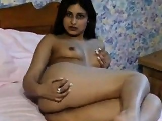 Sexy Indian Unspecified teasing her Old bean Friend