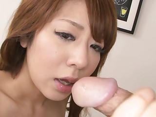 Japanese beauty, Saho Mikura got fucked, loose-fitting