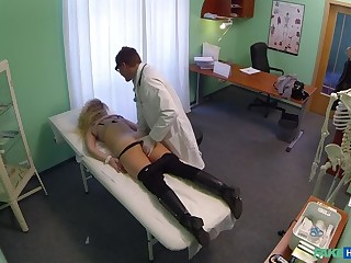 Cheating Blonde Sucks And Fucks Doctor Log in investigate Shocking A Deal