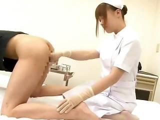 Beautiful nurse Ayumu