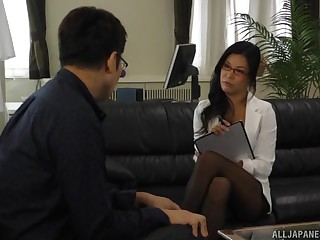 Pungent ass Japan grown up dazzles guy with out of this world sex